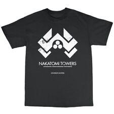 Nakatomi Towers T-Shirt 100% Cotton Die Hard Inspired Bruce Willis Plaza