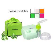 Inhalador Aparato para Inhalación Omnibus Nuevo Medicamentos Rosado Verde Limón