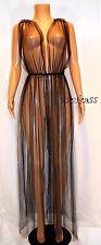$428.00 Victoria's Secret Designer Collection Embellished tulle slip robe sz O/S