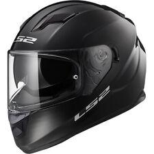 LS2 Stream Evo Solid Motorcycle Motorbike Touring Helmet - Black