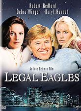 NEW DVD // Legal Eagles // Robert Redford, Debra Winger, Daryl Hannah, Brian Den