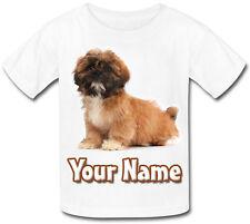 Shihtzu CANE / CAGNOLINO BAMBINO PERSONALIZZATA t-shirt - grande regalo per bambini e anche con nome