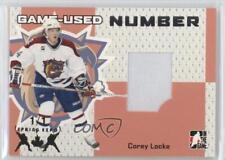 2006 In the Game Heroes and Prospects GUN-09 Corey Locke Hamilton Bulldogs (AHL)