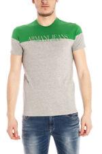 T-shirt Maglietta Armani Jeans AJ Sweatshirt -60% Uomo Grigio V6H33JW-6X SALDI