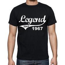 1967 T-shirt d'anniversaire,tshirt homme,cadeau d'anniversaire