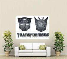 TRANSFORMERS GIGANTE XL sezione Wall Art POSTER VG114