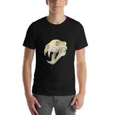 Tiger Skull, Short-Sleeve Unisex T-Shirt