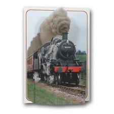 Pictoria Press 3D Pop Up Greeting Card Steam Engine Train Railway Birthday Dad