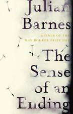 THE SENSE OF AN ENDING., Barnes, Julian., Used; Very Good Book