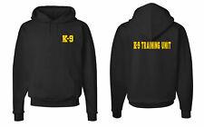 K-9 Training Unit Sheriff Police Law Enforcement Team Hooded Sweatshirts S-5XL