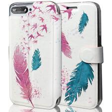 Mobiwear Book Style Handy Motiv Tasche Flip Case Hülle Cover Huawei Y6 2018