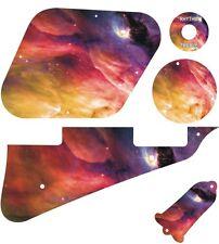 Kit Pickguard Pick Guard Graphical Gibson LP Les Paul Guitar Orion Nebula