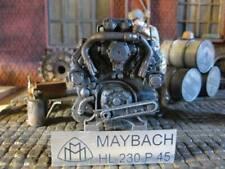 Maybach HL230 P45 Tiger Königstiger RC Panzer Motor Platte Deko Zubehör 1/16