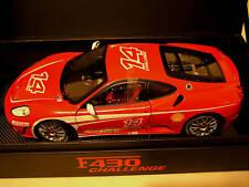 FERRARI F430 CHALLENGE egr SUPER ELITE 1/18 HOT d WHEELS K4146 car miniature