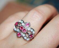 -fire-opal-topaz-ring-gemstone-silver-jewelry-82-95-105-medieval-renaissance