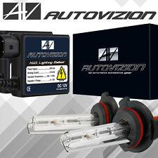 AUTOVIZION Slim HID Kit Conversion H4 H7 H11 9003 9005 9006 6K 5K Hi-Lo Bi-Xenon