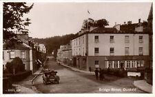 Dunkeld. Bridge Street by Valentine's # 85625. Car.