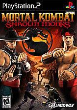 Mortal Kombat: Shaolin Monks MK Combat (Sony Playstation 2, PS2)