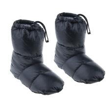 Gänsedaunen Hausschuhe Schuhe Stiefeletten Schuhe Campingfüße Bezug Warm