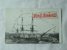 H.M.S Victory, Transport Postcard