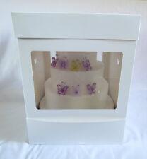 "Large Tall Cake Box Gift Box Wedding Cake box  12""x12""x16"", 30cmx30cmx40.5cm"