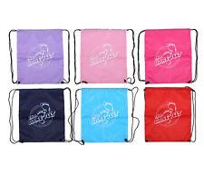 Classic Swim Bag / Gym Sports Drawstring Kit Bag