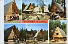 Wanderhütten DDR Rennsteig Neuhaus, Frauenwald, Masserberg, Fehrenbach Motive