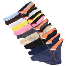 Men Bikini Briefs Fashion Boxers Underwear Thongs G-String Panties 1/4 Pcs M-2XL