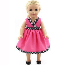 "Fits 18"" American Girl Madame Alexander Handmade Doll Clothes dress MG174"