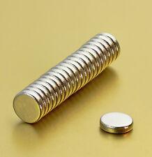 Neodym Magnete Super Mini Magneten 4 x 1 mm - Stück wählbar - runde Scheiben N38
