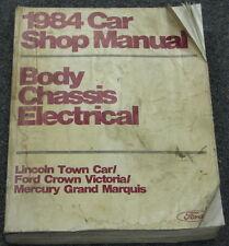 1984 Ford Crown Victoria Grand Marquis Service Manual
