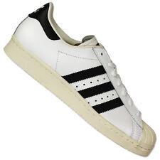 sale retailer aabb3 ea543 Adidas Originals Superstar Sst de los Años 80 Hombre Piel Zapatillas Blanco