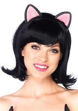 Kitty Kat Bob Wig Cat Animal Fancy Dress Halloween Costume Accessory 2 COLORS