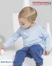 BabyBugz Bébé à manches longues 100% coton doux Haut garçons filles T-shirt