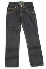 Pantalone lungo Jeans da bambino blu scuro Datch casual junior moda tasche zip