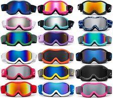 Kids Ski Snow Goggles Anti-Fog Snowboarding Kids Junior Professional Ski Goggles