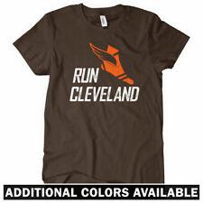 RUN CLEVELAND V3 Women's T-shirt - Running Ohio Erie 216 Browns Indians - S-2XL