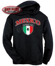 Mexican Crest Pride Hoodie Sweatshirt M-3XL Numero Uno Mexico Hispanic