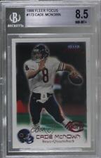 1999 Fleer Focus #173 Cade McNown BGS 8.5 NM-MT+ Chicago Bears RC Football Card