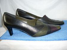 High Heel PUMPS von la belle NEU Gr. 41,5 in schwarz kombiniertem Nappaleder