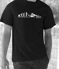 Evolution of Man, Hesketh 308 James Hunt t-shirt