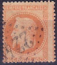 VARIETE - EMPIRE N°31 40c ORANGE FORT DECALAGE