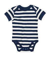 Babybugz Body Baby maniche corte a strisce  Numero articolo 045.47