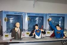 CLARK KENT as SUPERMAN Statue Figure Bust DC Direct * READ AUCTION DESCRIPTION *