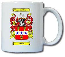 ARBUCKLE COAT OF ARMS COFFEE MUG