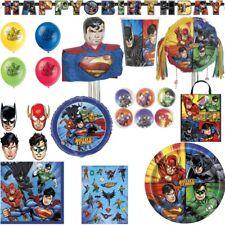 JUSTICE LEAGUE EL LIGA der gerechten Cumpleaños Niños Set Decoración Superman