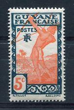 GUYANE, 1929-38, timbre 112, INDIGENE, neuf**