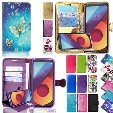 For LG K3 K4 K5 K7 K8 K10 Phones - Flip Wallet Card Stand Leather Case Cover