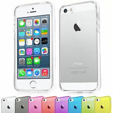 Apple iPhone 4 / 5 5s / 6 6s TPU Silikon Schutz Hülle Bumper Crystal Case Tasche