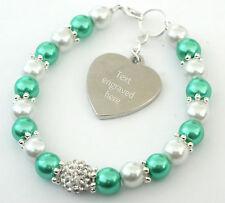 Engraved Personalised Gallbladder Cancer Awareness Bracelet Charity Fundraising